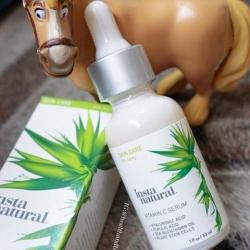 InstaNatural, Vitamin C Serum with Hyaluronic Acid + Ferulic Acid, Anti-Aging, 1 fl oz (30 ml)