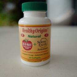 ( ฝาเขียว ) Healthy Origins, Lyc-O-Mato, Tomato Lycopene Complex, 60 Softgel