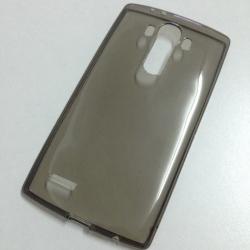 เคสนิ่มใส (หนา 0.3 mm) LG G4 สีเทา
