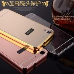 เคส Huawei Y6ll รุ่น Aluminium Hybrid Mirror Back (เคสฝาหลังเงา)