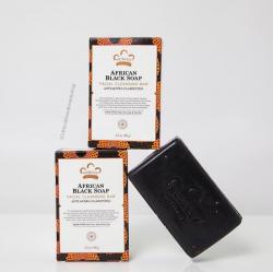 # สิวที่หลัง ที่หน้า # Nubian Heritage African Black Soap Bar 5 oz (141 g)