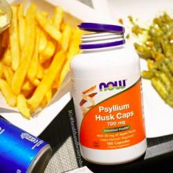 # แนะนำ # Now Foods, Psyllium Husk Caps, 700 mg, 180 Capsules