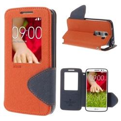 Case LG G2 Mini เคสฝาพับ ยี่ห้อ Roar