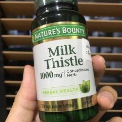 # งานตับ # Nature's Bounty, Silymarin Milk Thistle, 1000 mg, 50 Softgels