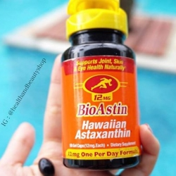 # ผิวนุ่ม # Nutrex Hawaii, BioAstin, Hawaiian Astaxanthin, 12 mg, 50 Gel Caps
