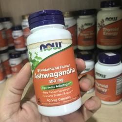 # ฉลากเปื้อน # Now Foods, Ashwagandha, 450 mg, 90 Vcaps