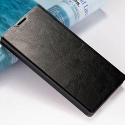 เคส Zenfone 6 ยี่ห้อ Mofi เคสหนังฝาพับ สีดำ