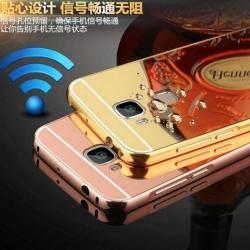เคส Huawei Nova Plus รุ่น Aluminium Hybrid Mirror Back (เคสฝาหลังเงา)