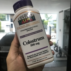 21st Century Health Care, Colostrum, 500 mg, 120 Capsules