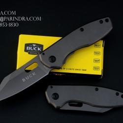 มีดพับ Buck Knives DA 103 สี Titanium Grey สวยมาก (OEM)