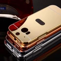 เคส HTC One M8 รุ่น Aluminium Hybrid Mirror Back (เคสฝาหลังเงา)