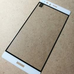 ฟิล์มกระจกเต็มจอ Huawei P9 Plus ขอบขาว