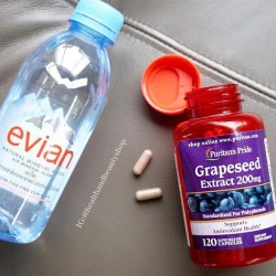 # ผิวขาวใส # Puritan's Pride Grapeseed Extract 200 mg 120 Capsules