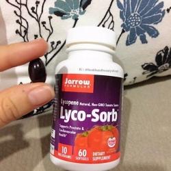 # ทนแดด #Jarrow Formulas, Lyco-Sorb Lycopene, 10 mg, 60 Softgels