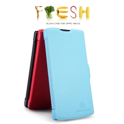 Case OPPO Neo3 / Neo 5 ยี่ห้อ Nillkin รุ่น Fresh Series Leather Case