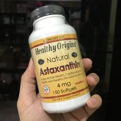 Healthy Origins, Astaxanthin, 4 mg, 150 Softgels