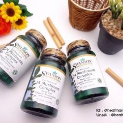 # บำรุงสุขภาพ # Swanson Premium Full Spectrum 14 Mushroom Complex 60 Veg Caps