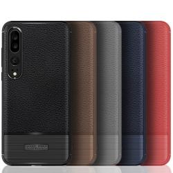เคส Huawei P20 Pro รุ่น Litchi Texture