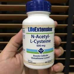 # ฉลากเปื้อน # Life Extension, N-Acetyl-L-Cysteine, 600 mg, 60 Veggie Caps