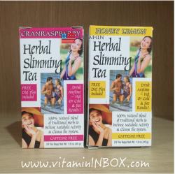 21st Century Health Care, Herbal Slimming Tea, Honey-Lemon, Caffeine Free, 24 Tea Bags, 1.6 oz (45 g)