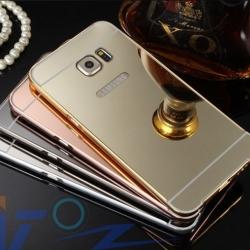 เคส Samsung Note 5 รุ่น Aluminium Hybrid Mirror Back (เคสฝาหลังเงา)