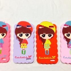 Case Vivo Y37 รุ่น Cute Girl