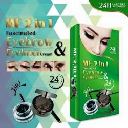 เขียนคิ้วกล่องเขียว MF 2 in 1 eyebrow eyeliner