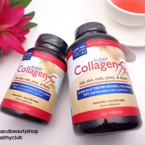 Neocell, Super Collagen+C, Type 1 & 3, 250 Tablets