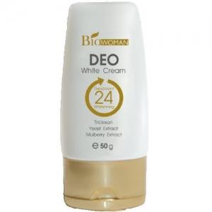 Biowoman Deo White Cream ไบโอ-วูเมนส์ ดีโอ ไวท์ ครีม