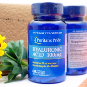 # หลุมสิว # Puritan's Pride Hyaluronic Acid 100 mg 60 Capsules