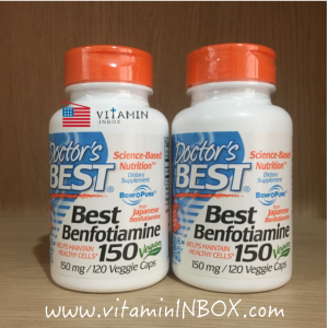 # AGEs # Doctor's Best Best Benfotiamine 150 mg 120 Veggie Caps