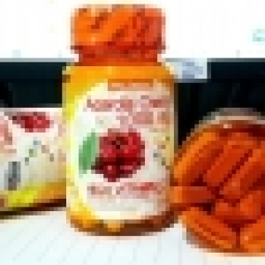 Acerola Cherry 1000mg high vitamin C มี 30 เม็ด