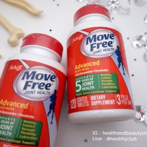 # ข้อเข่า # Schiff, Move Free Joint Health, Glucosamine Chondroitin Plus MSM, 120 Coated Tablets