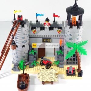 โจรสลัด (Pirate) E-310. ตัวต่อเลโก้จีน ป้อมโจรสลัด