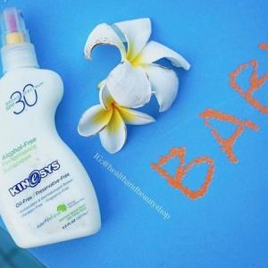 # กันแดด # KineSys Inc., Alcohol-Free Performance Sunscreen, SPF 30, Fragrance-Free, 4 fl oz (120 ml)