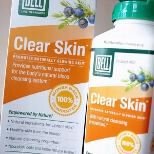 # ฟื้นฟูผิว # Bell Lifestyle, Clear Skin, 90 Capsules