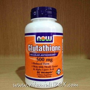 Now Foods, Glutathione, 500 mg, 60 Vcaps