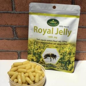 Nature's King Royal Jelly 1000 mg. นมผึ้ง เนเจอร์ คิง