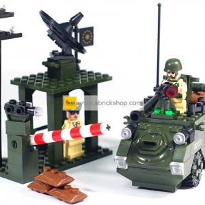ทหาร (Soldier) E-808 ตัวต่อเลโก้จีน ด่านทหาร