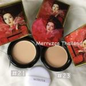 Merrez'ca Collagen UV Two-Way Cake SPF40/PA++(Eco+CERT) เบอร์ 21
