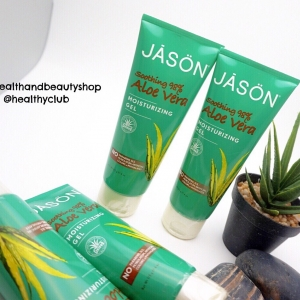 #โดนแดดเผา # Jason Natural, Pure Natural Moisturizing Gel, Soothing 98% Aloe Vera, 4 oz (113 g)