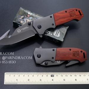 มีดพับ STRIDER รุ่น FA06 ด้ามไม้แท้ (OEM)
