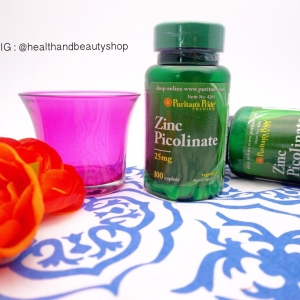 Puritan's Pride Zinc Picolinate 25 mg 100 Caplets