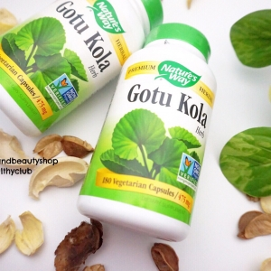 # รอยแผล ฟก ช้ำ # Nature's Way, Gotu Kola, Herb, 180 Capsules
