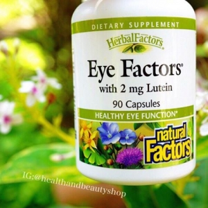 Natural Factors, Eye Factors, with 2 mg Lutein, 90 Capsules