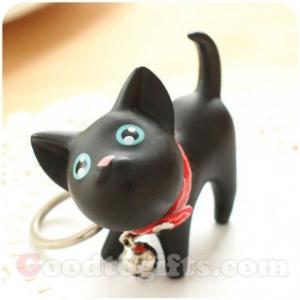 พวงกุญแจน้องแมวดำ