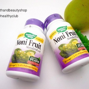 Nature's Way, Noni Fruit, Standardized, 60 Vcaps