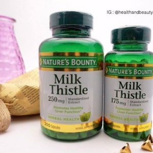 Nature's Bounty, Natural Milk Thistle, 175 mg, 100 Capsules