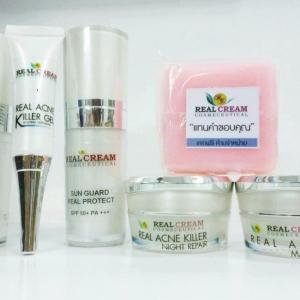 Realcream Acne Expert Set (Set สิว) ขนาด 15 กรัม
