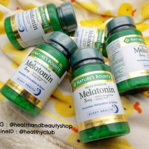 Nature's Bounty, Triple Strength Melatonin, 3 mg, 240 Tablets
